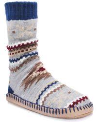 Muk Luks - Slipper Socks - Lyst