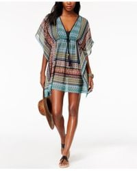 Bleu Rod Beattie | Printed Caftan Cover-up | Lyst