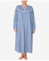 Lanz of Salzburg - Plus Size Cotton Printed Nightgown - Lyst