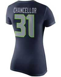 Nike - Women's Kam Chancellor Seattle Seahawks Player Pride T-shirt - Lyst
