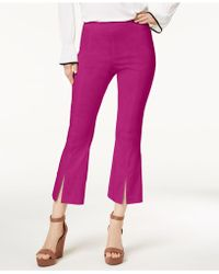 INC International Concepts - I.n.c. Curvy-fit Cropped Split-hem Pants, Created For Macy's - Lyst