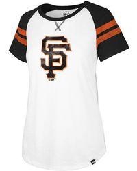 47 Brand - San Francisco Giants Flyout T-shirt - Lyst