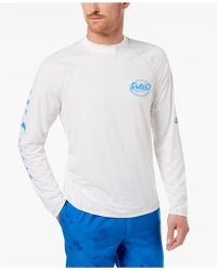 Tommy Bahama - Men's Beach Break Graphic-print Rash Guard - Lyst