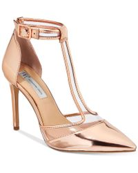 INC International Concepts - Kaeley T-strap Pumps - Lyst