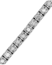 Macy's - Diamond Bracelet In (3-5/8 Ct. T.w.) 14k White Gold - Lyst