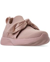Bobs Sport Squad 2 Bow Beauty Casual Athletic Sneakers From Finish Line Pink