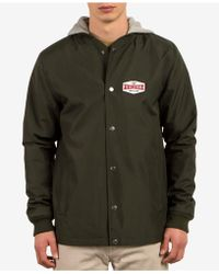 Volcom | Men's Highstone Hooded Waterproof Jacket | Lyst