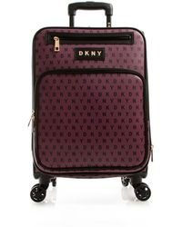"""DKNY - Signature Gems 21"""" Spinner Suitcase - Lyst"""