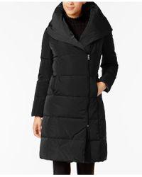 Cole Haan - Asymmetrical Pillow-collar Puffer Coat - Lyst