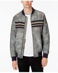 American Rag - Camo Bomber Jacket, Created For Macy's - Lyst