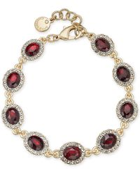 Charter Club - Gold-tone Pavé & Stone Link Bracelet, Created For Macy's - Lyst