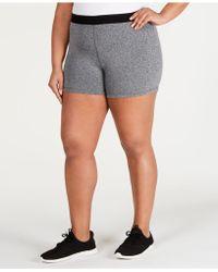 744ff88755c Lyst - Nike Plus Size Flex Dri-fit Training Shorts in Pink