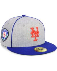 KTZ - New York Mets Stache 59fifty Fitted Cap - Lyst