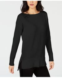 Maison Jules - High-low Hem Sweater, Created For Macy's - Lyst