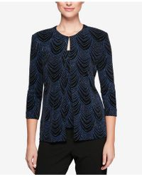 Alex Evenings - Embellished Jacket & Shell - Lyst
