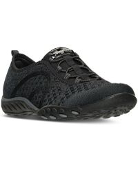 Skechers - Women's Relaxed Fit: Breathe Easy - Fortuneknit Casual Walking Sneakers From Finish Line - Lyst