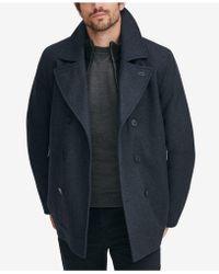 Marc New York - Emmett Wool Peacoat - Lyst