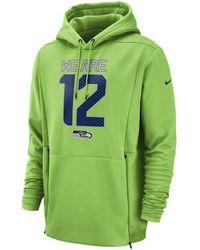 Lyst - Nike Men s Seattle Seahawks Sideline Ko Fleece Full-zip ... c0f31a4fd