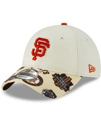 hot sale online 89604 967a5 KTZ San Francisco Giants Vintage Pinstripe 9fifty Snapback Cap in Orange  for Men - Lyst