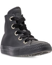 Converse - Chuck Taylor Big Eyelets High Top Casual Sneakers From Finish Line - Lyst