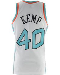 5e03efe9b Lyst - Mitchell   Ness Shawn Kemp Nba All Star 1996 Name   Number ...