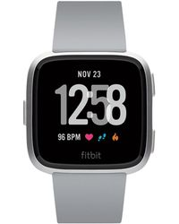 Fitbit | Versatm Grey Touchscreen Smart Watch 39mm | Lyst