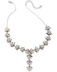 """INC International Concepts - Multi-stone Lariat Necklace, 19"""" + 3"""" Extender, Created For Macy's - Lyst"""