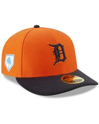 the latest 59ac6 46cee KTZ Detroit Tigers Spring Training Pro Light Low Profile 59fifty Fitted Cap  in Blue for Men - Lyst