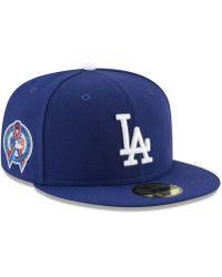 902a2076335 Lyst - KTZ Brooklyn Dodgers Custom Jackie Robinson 59fifty Fitted ...