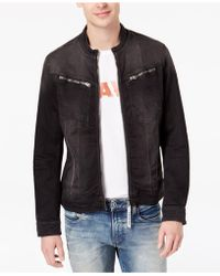 G-Star RAW - Men's Arc Dc 3d Slim-fit Full-zip Denim Jacket - Lyst
