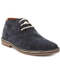 Kenneth Cole Reaction - Desert Sun Suede Chukkas - Lyst