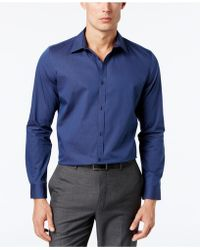CALVIN KLEIN 205W39NYC - Infinite Cool Striped No-iron Shirt - Lyst