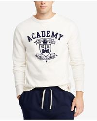 7ada7eb3d759 Lyst - Polo Ralph Lauren Fleece Graphic Sweatshirt in Gray for Men