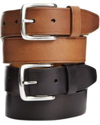Cole Haan - Buff Harness Leather Belt - Lyst