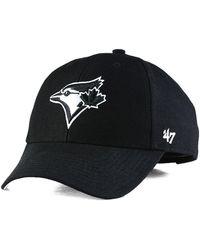 47 Brand - Toronto Blue Jays Curved Mvp Cap - Lyst