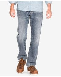 Silver Jeans Co. | Men's Zac Relaxed-fit Straight Stretch Jeans | Lyst