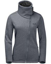 Jack Wolfskin - Atlantic Sky Fleece Jacket From Eastern Mountain Sports - Lyst