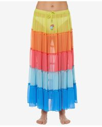 Bleu Rod Beattie - Long Skirt Cover-up - Lyst