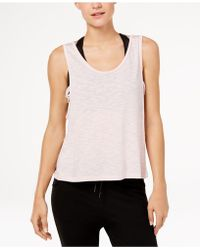 Gaiam - Harley Burnout Cropped Tank Top - Lyst