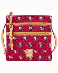 Dooney & Bourke - San Francisco 49ers Triple-zip Crossbody Bag - Lyst