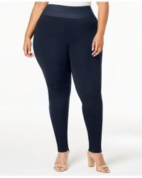 INC International Concepts - I.n.c. Shaping Plus Size Smoothing Leggings, Created For Macy's - Lyst