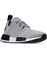 ce2d18a3da9ba Lyst - adidas Originals Men s Boost Zg Primeknit Running Sneakers ...