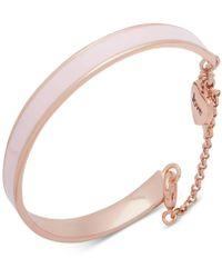 Ivanka Trump - Gold-tone Enamel Bangle Bracelet - Lyst