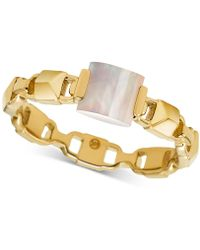 Michael Kors - Mercer Link Silver Chain Bracelet - Lyst