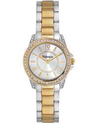 Style & Co. - Style&co. Watch, Women's Two-tone Bracelet 28mm Sy031sg - Lyst