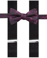 Alfani - Geometric Pre-tied Bow Tie & Suspender Set, Created For Macy's - Lyst