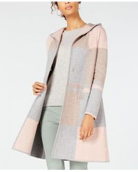 Charter Club - Petite Colorblocked Sweater Coat, Created For Macy's - Lyst