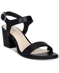 Style & Co. - Mollee Block-heel Sandals - Lyst