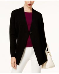 Alfani - Single-button Sweater Coat - Lyst
