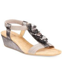 Alfani - Valensia Wedge Sandals, Created For Macy's - Lyst
